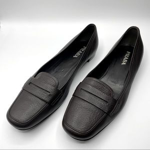 Prada Pebbled Leather Loafer Made in Italy (Loafer Trend!)